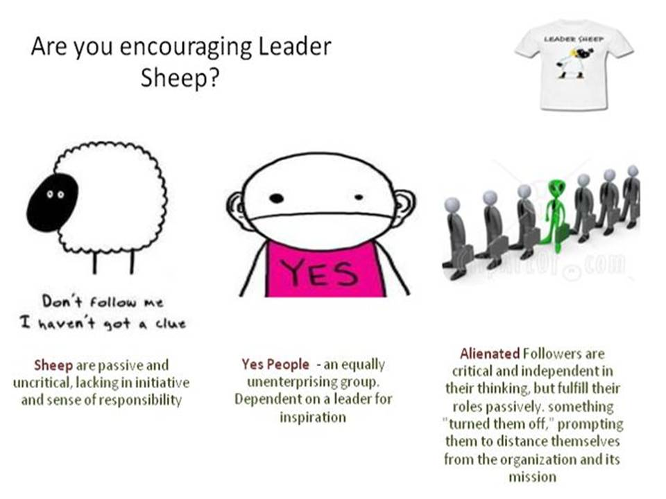 the concept of followership The concept of transformational leadership was initially introduced by leadership expert and presidential biographer james macgregor burns according to burns, transformational leadership can be seen when leaders and followers make each other to advance to a higher level of moral and motivation.